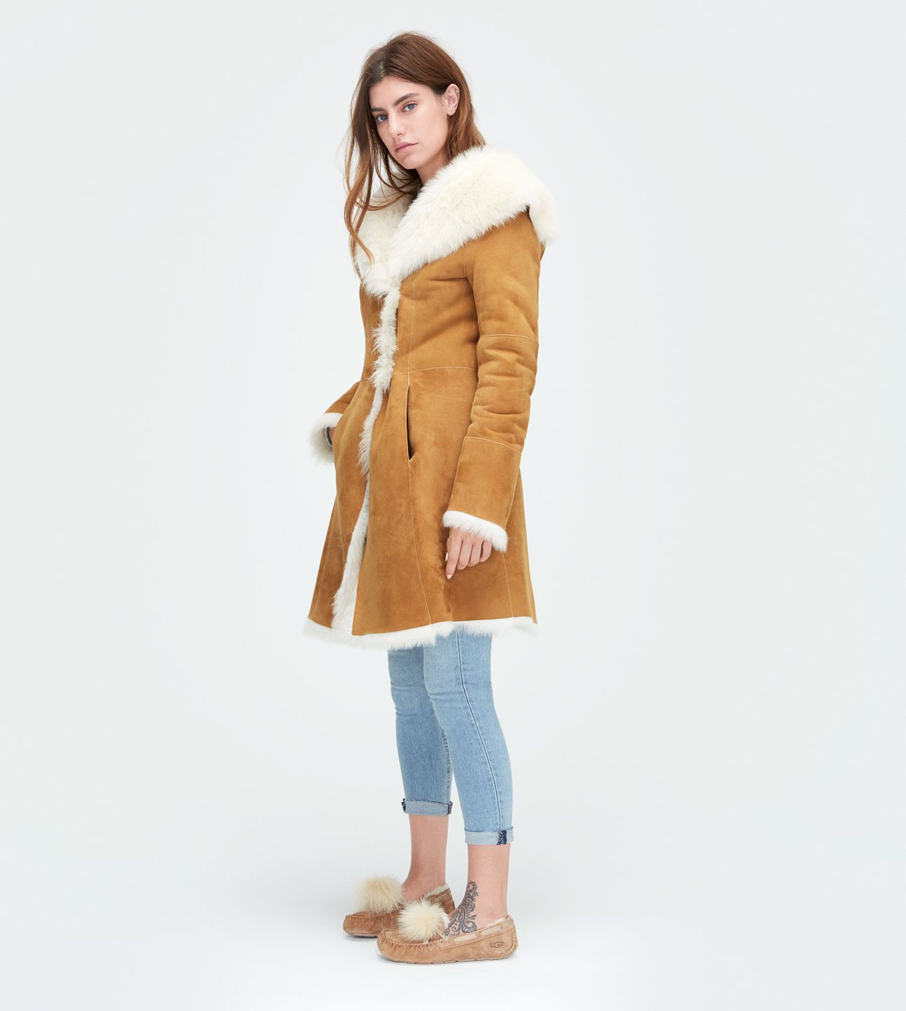 c3edc9d4a3 Women s Share this product Vanesa Toscana Shearling Coat