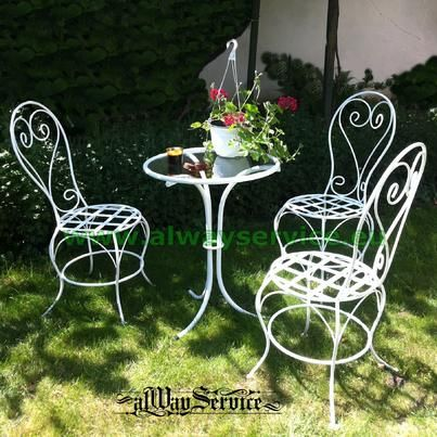 Iron Chair Price Gold Damask Covers Stol Ot Kovano Zhelyazo Wrought Chairs And Tables 84 62euro Handmade Color White Patina By Choice Shop Online At Www Alwayservice Eu
