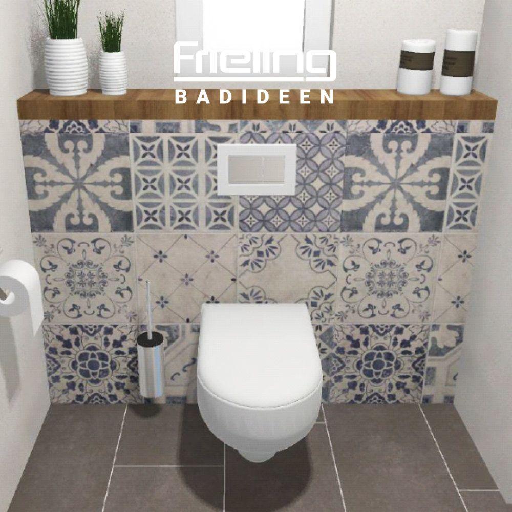 Das skandinavische Gäste-WC   Ansicht WC & Accessoires