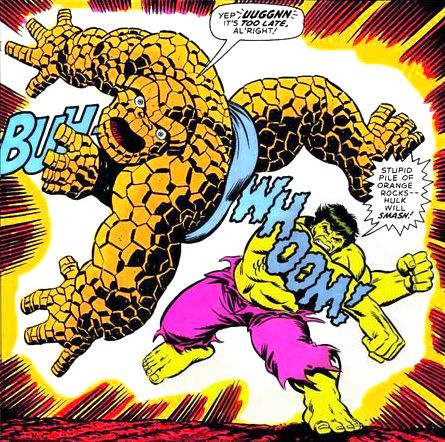 Marvel Feature 11 - Hulk vs The Thing