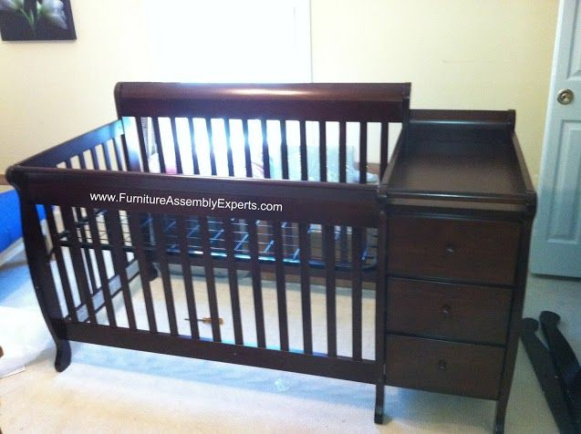 Babies R Us Baby Crib With Changing Table Assembled In Columbia Md By Furniture Assembly Experts Llc Call 240705226 Crib With Changing Table Baby Cribs Cribs