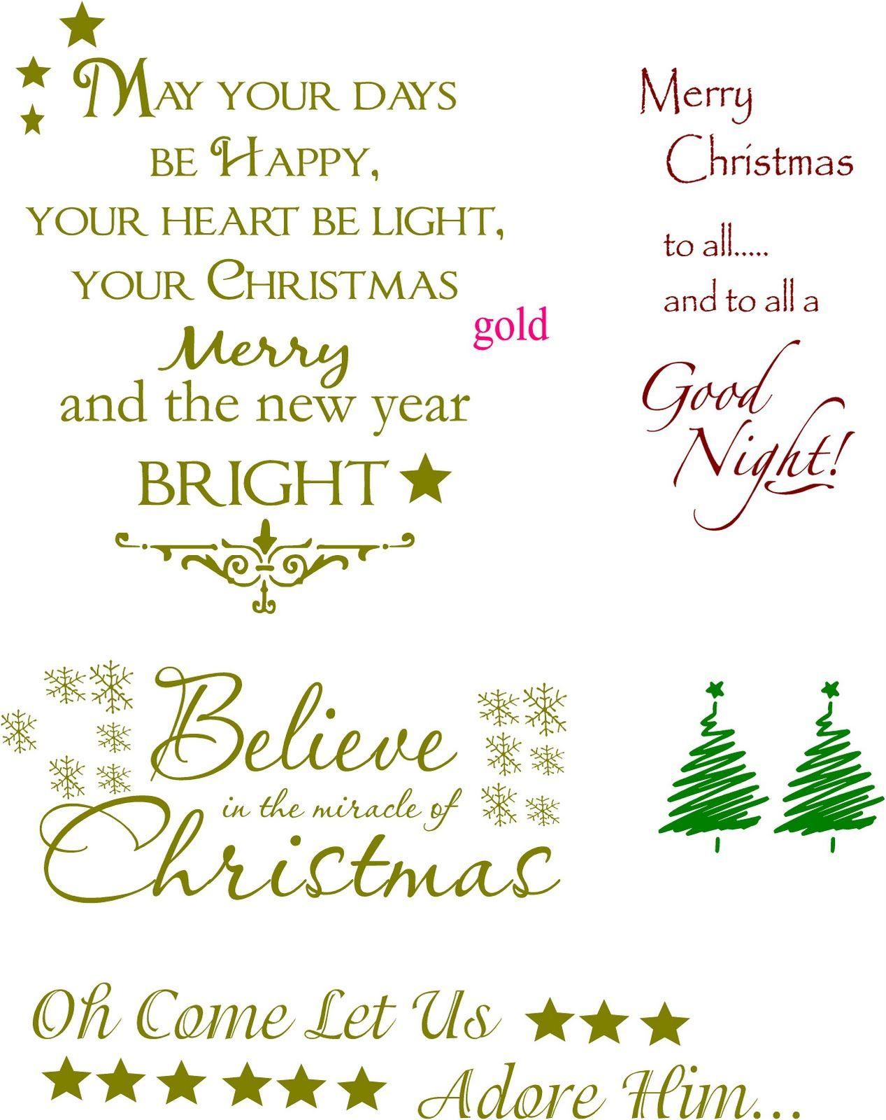 Christmas Greeting Cards Christmas Card Sayings Christmas Card Messages Card Sayings