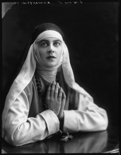 Muriel Ridley as the Nun in 'The Miracle' by Bassano 1912