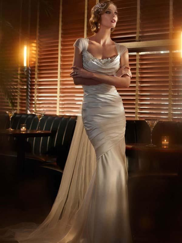 Buy Great Gatsby Inspired Wedding Dresses For Your Retro Art Deco