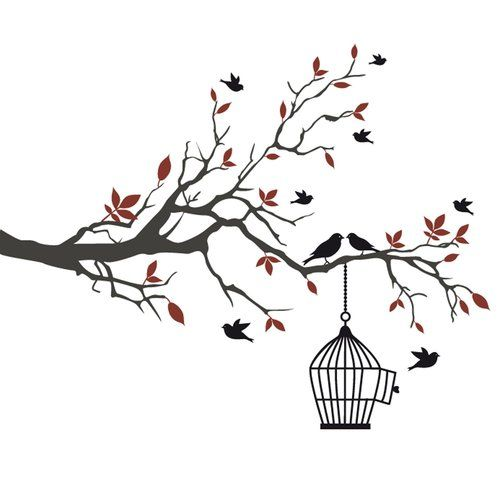 Be Free Wall Sticker All Home