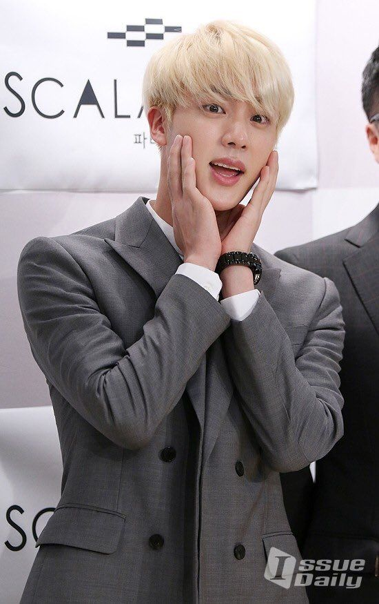 Jin ❤ @ Commemoration Event - Foundation of TUBTH&IssueDaily #BTS #방탄소년단