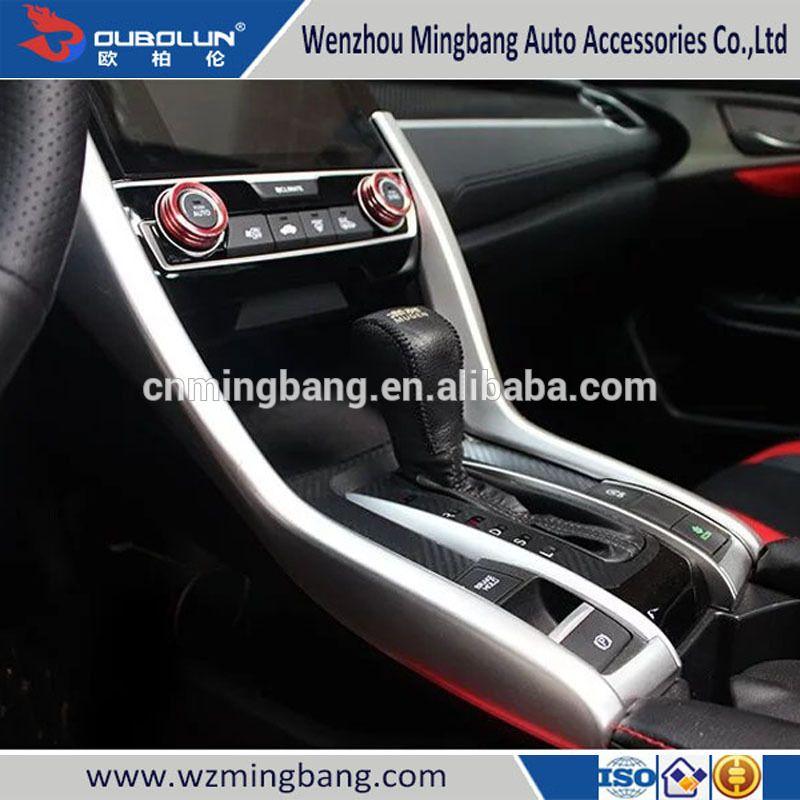 New Products Interior Accessories Gear Box Trim For Honda Civic 2016 Car Body Kit Body Kit Interior Accessories Honda Civic 2016