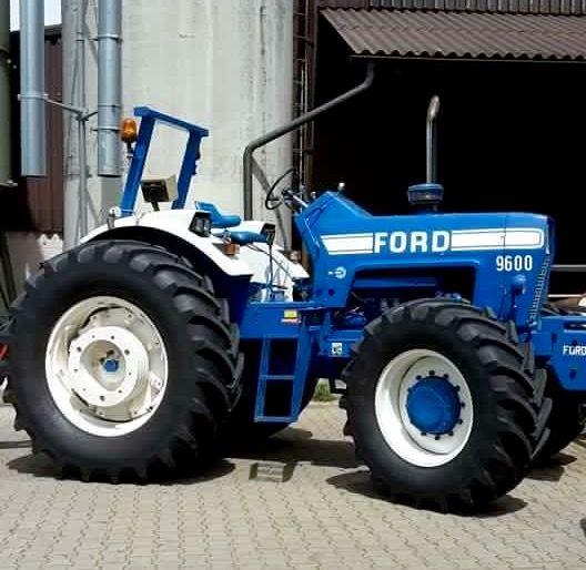 Ford 9600 Fwd Tractors Ford Tractors Vintage Tractors