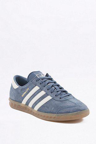buy online ba90a 3185e adidas Originals - Baskets Hamburg bleu marine