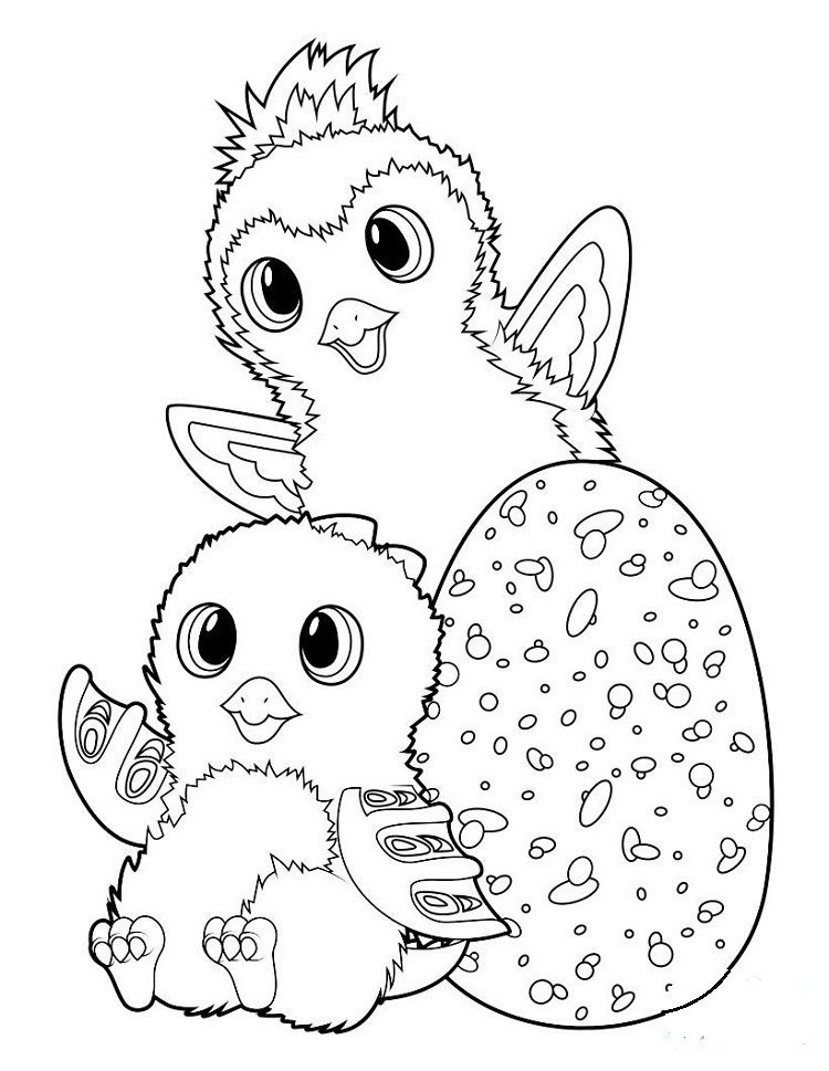 Hatchimals Coloring Pages Picture Below Is A Collection Of