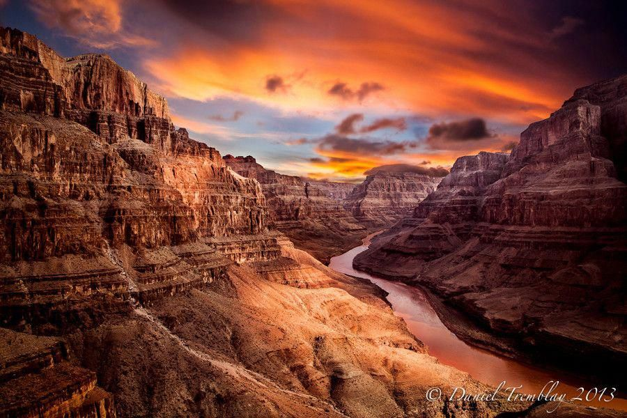 The One And Only By Landscape Photographer Daniel Tremblay Via 500px Grand Canyon Arizona Usa Scenic Photography Grand Canyon Colorado River