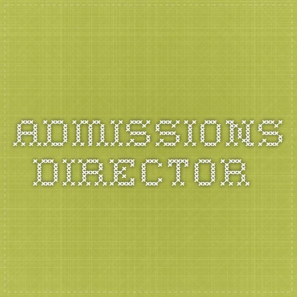 Admissions Director Job description Internships\/Dream Jobs - director job description