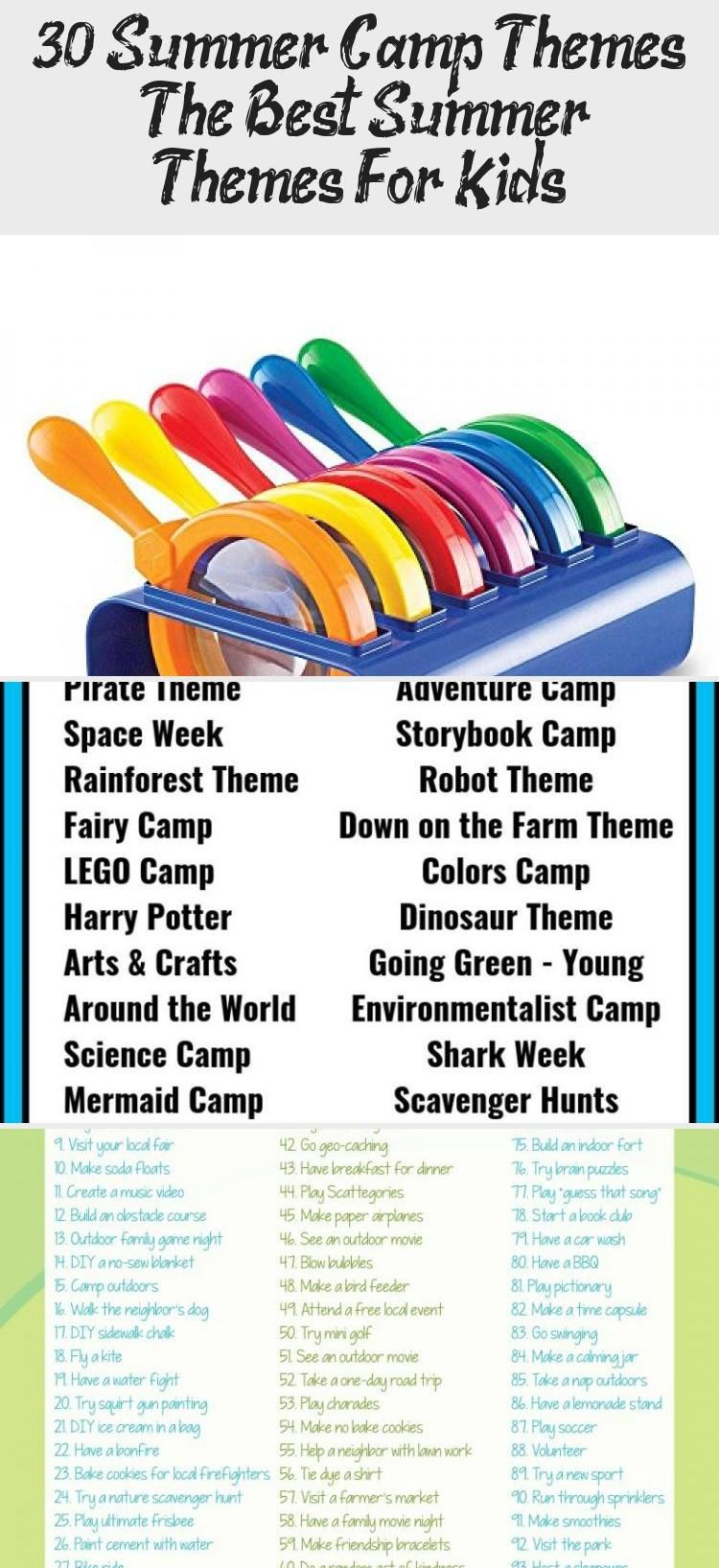 30 Summer Camp Themes The Best Summer Themes For In 2020