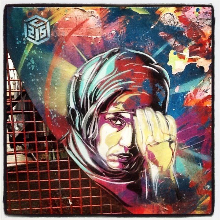 C215 in Blackall street #london #streetart #graffiti #c215