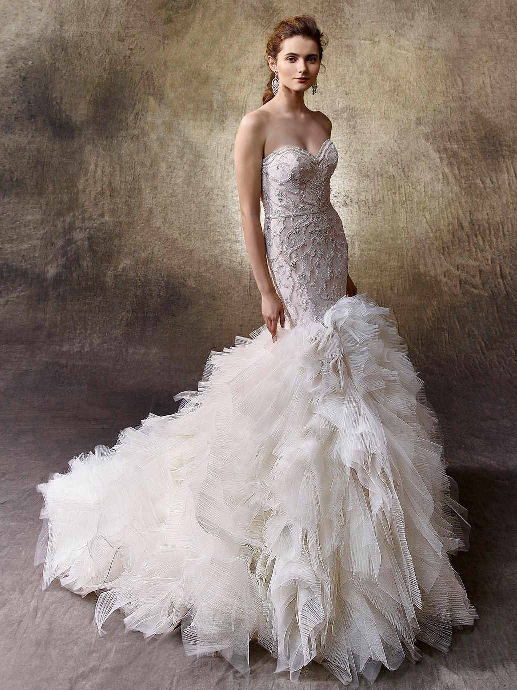 2017 enzoani lisa front view wedding dresses pinterest wedding dress out of enzoani lisa ombrellifo Images