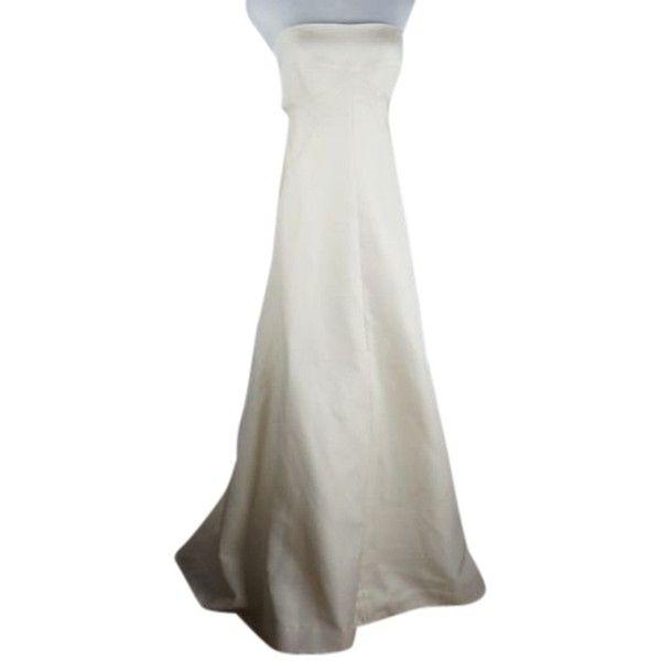 Pre-owned J Crew Gown Long Silk Ottoman Vionette Dress Formal ...