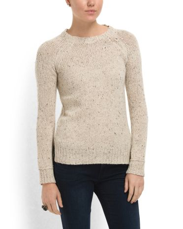 Button Back Pullover Sweater Sweaters Tjmaxx My Style