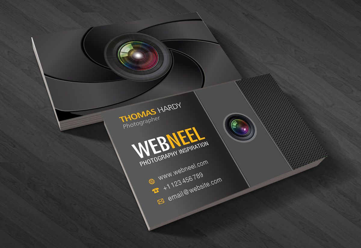 10 professional free business card templates with source files photography business card design template 40 read full post httpwebneelbusiness card template psd free follow us pinterestwebneel friedricerecipe Images