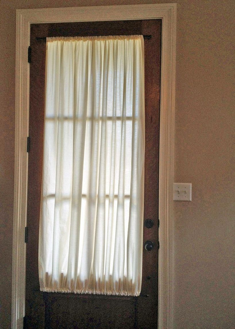 Curtain Ideas For Glass Front Door Front Doors With Windows