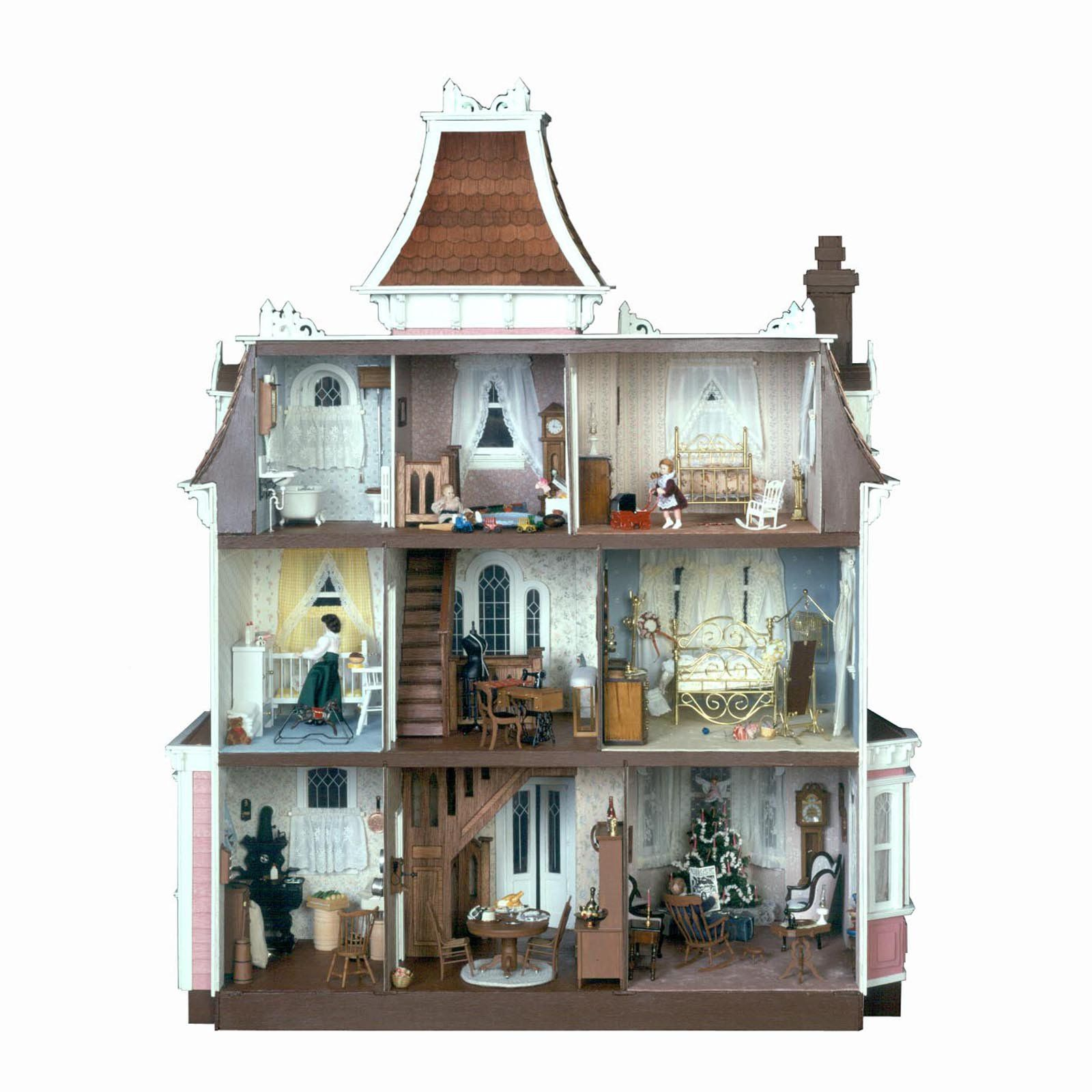 Greenleaf Beacon Hill Dollhouse Kit 1 Inch Scale Collector