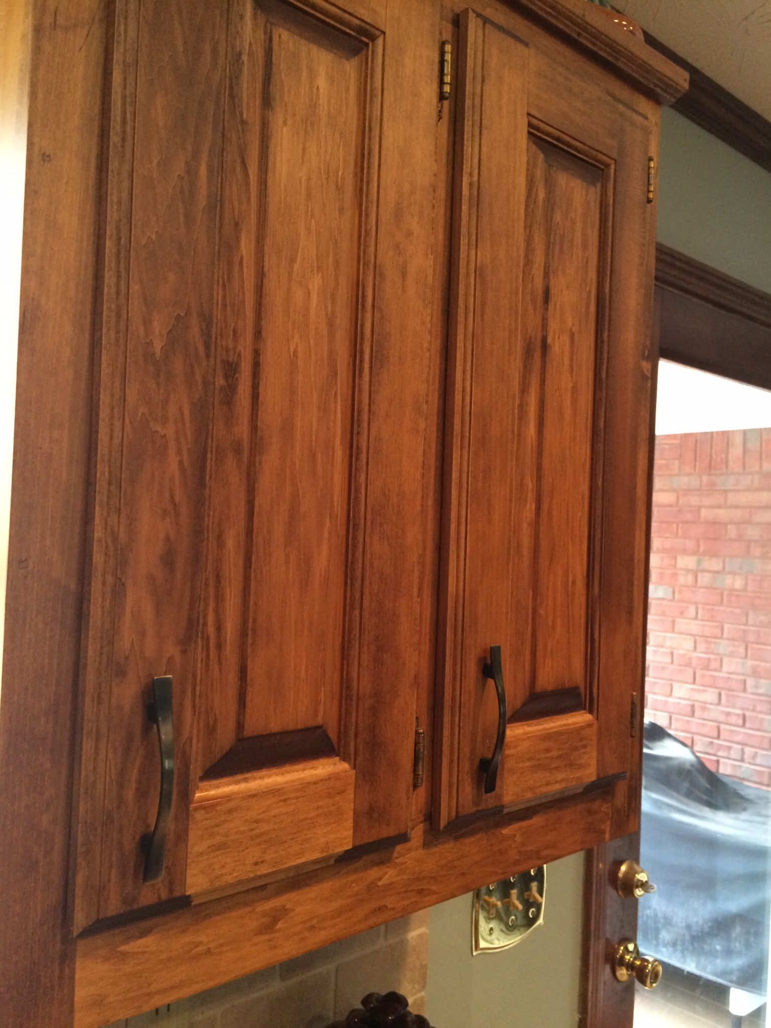 Basswood kitchen cabinets Rustic kitchen cabinets Matte finished
