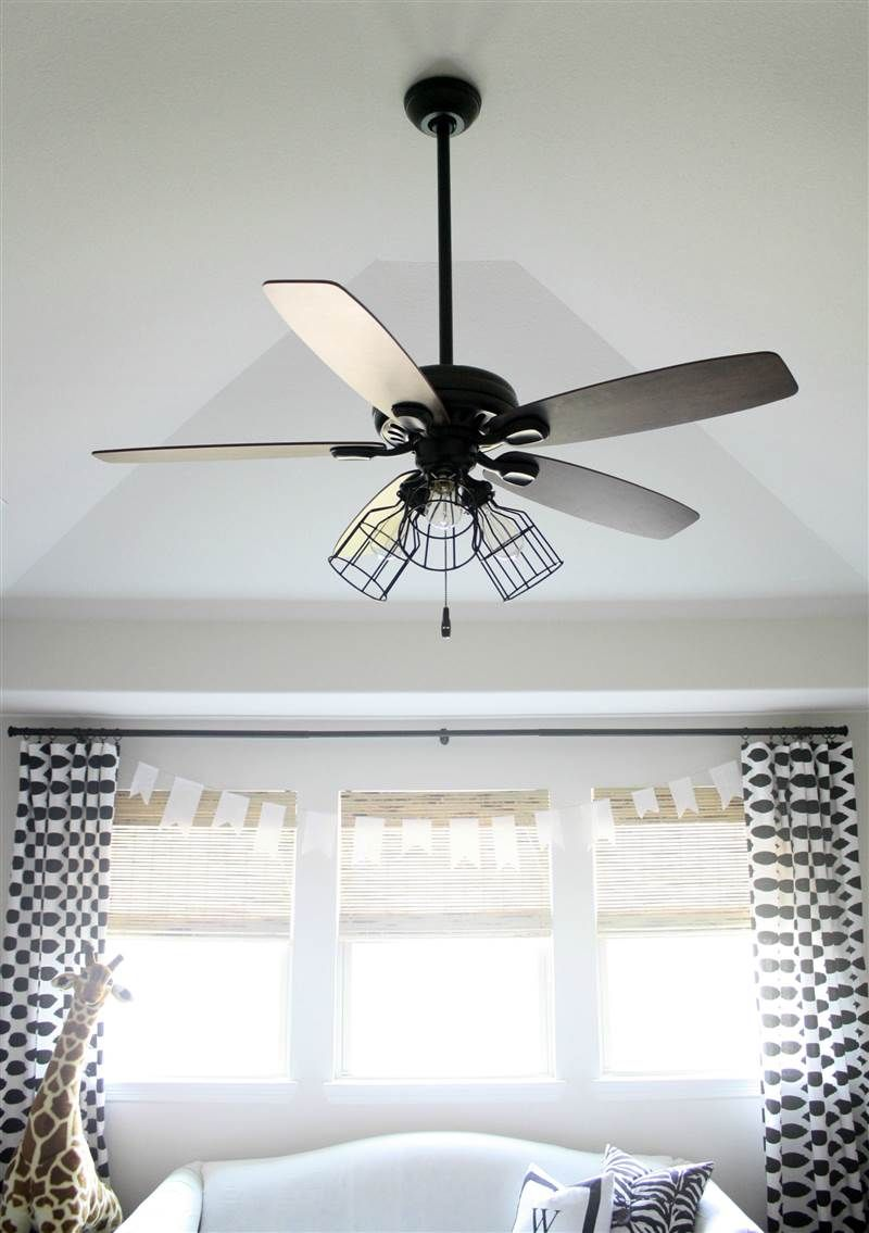 Give your ceiling fan a makeover with this diy ceiling fans while ceiling fans are a popular way to beat the heat they are often an eyesore in homes across the country but this diy changes that aloadofball Gallery