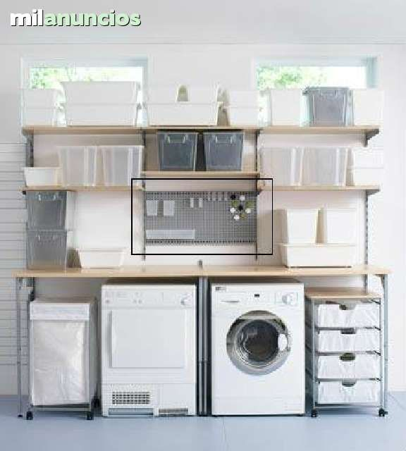 Estanterias met licas antonius de ikea foto 3 laundry room ikea estanter as met licas y - Ikea estanterias metalicas cocina ...