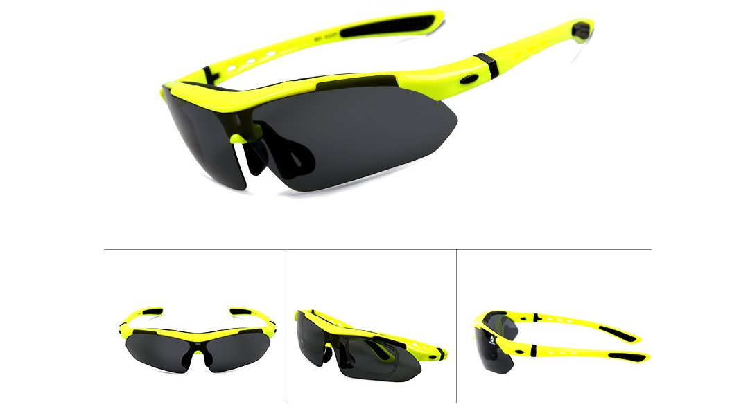 Polarized Sunglasses 100/% UVA//UVB//UVC Protect Bike Goggles Eyewear Outdoor Sport