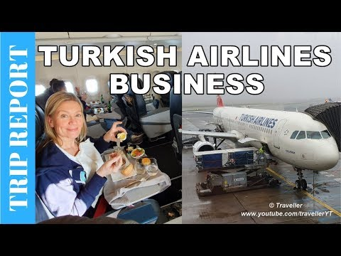 Turkish Airlines BUSINESS CLASS Review on Airbus A321