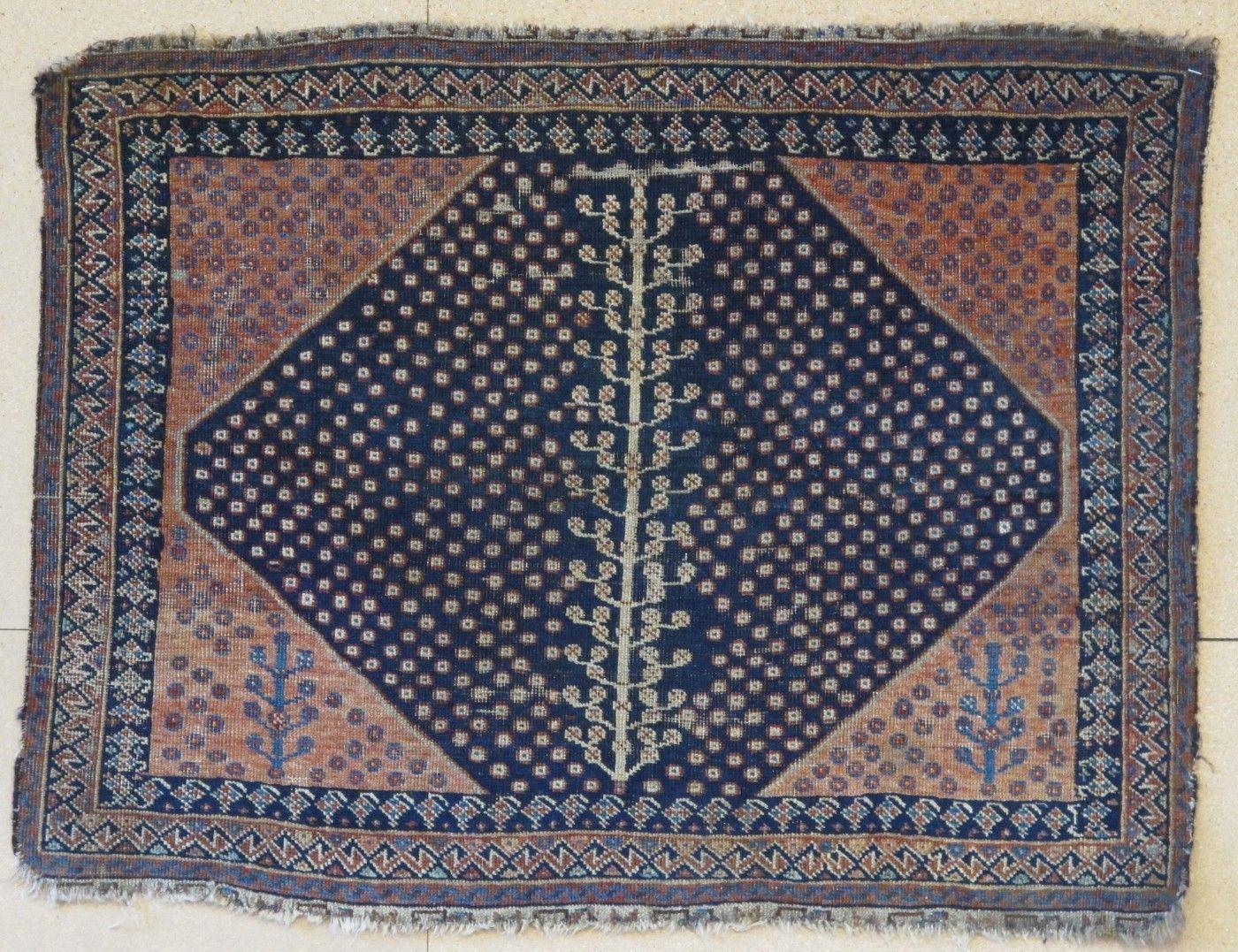 Interesting Afshar Bagface Aaron Nejad Antique Carpets