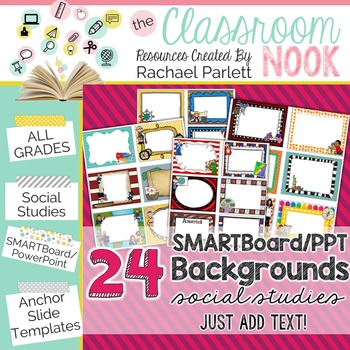 smartboard and powerpoint background templates {social studies, Powerpoint templates