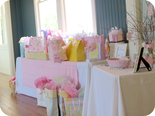 Sweet beginnings baby shower gift table baby shower ideas sweet beginnings baby shower gift table negle Gallery