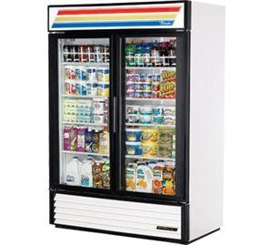 True Refrigerated Merchandiser Glass Door Refrigerator Glass Door Sliding Glass Door