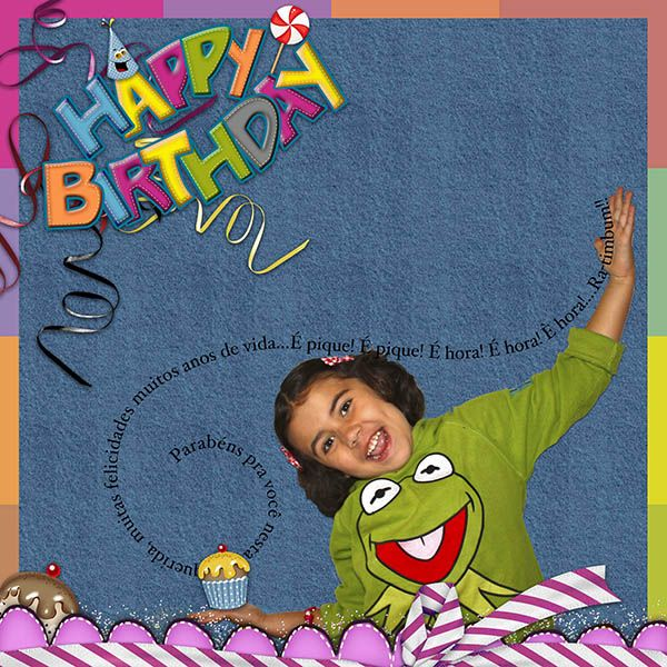 PatyCake: FREEBIE!! Happy Birthday Kit!...Parabéns pra você!