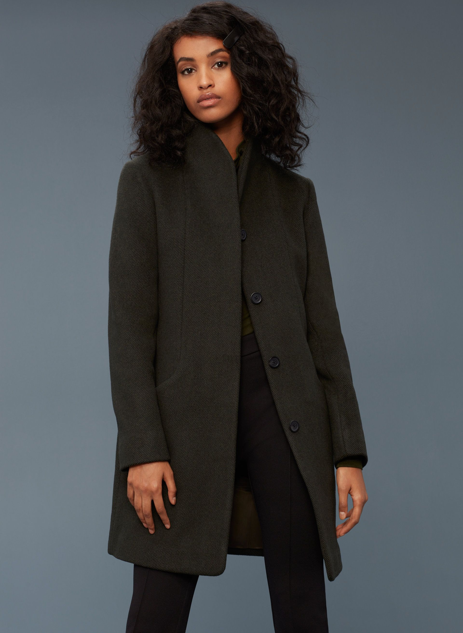 f4987148990 Wilfred COCOON COAT