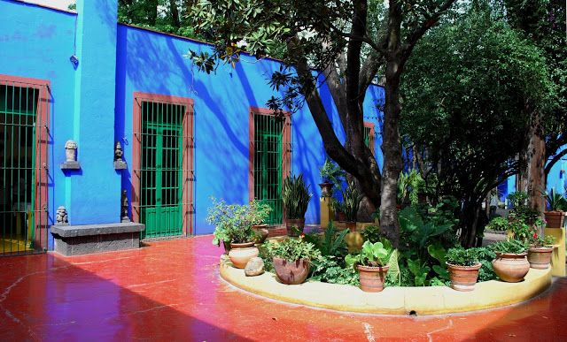 Burning Blue Frida Kahlo S La Casa Azul In Coyoacan With Images