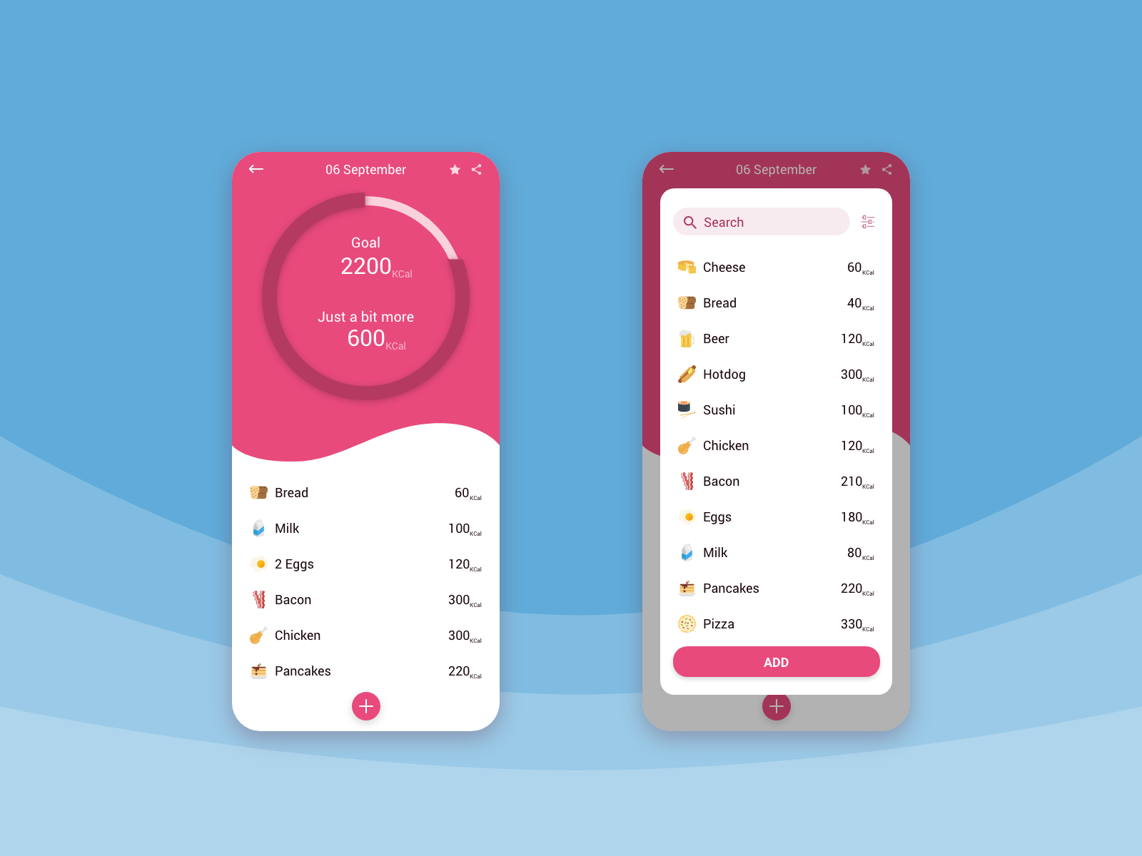 Calorie Calculator App Concept Dailyui 004 Calorie Calculator App Calculator App Calorie Calculator