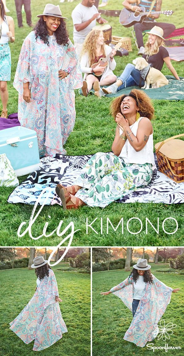 A Beginner-Friendly Kimono Robe for Festival Season | Video Tutorial ...