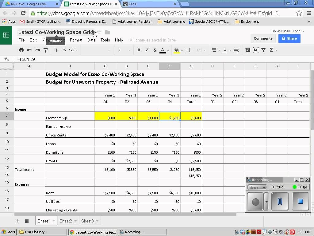 Sharing Excel Spreadsheets Online Excel Spreadsheets Excel Spreadsheet
