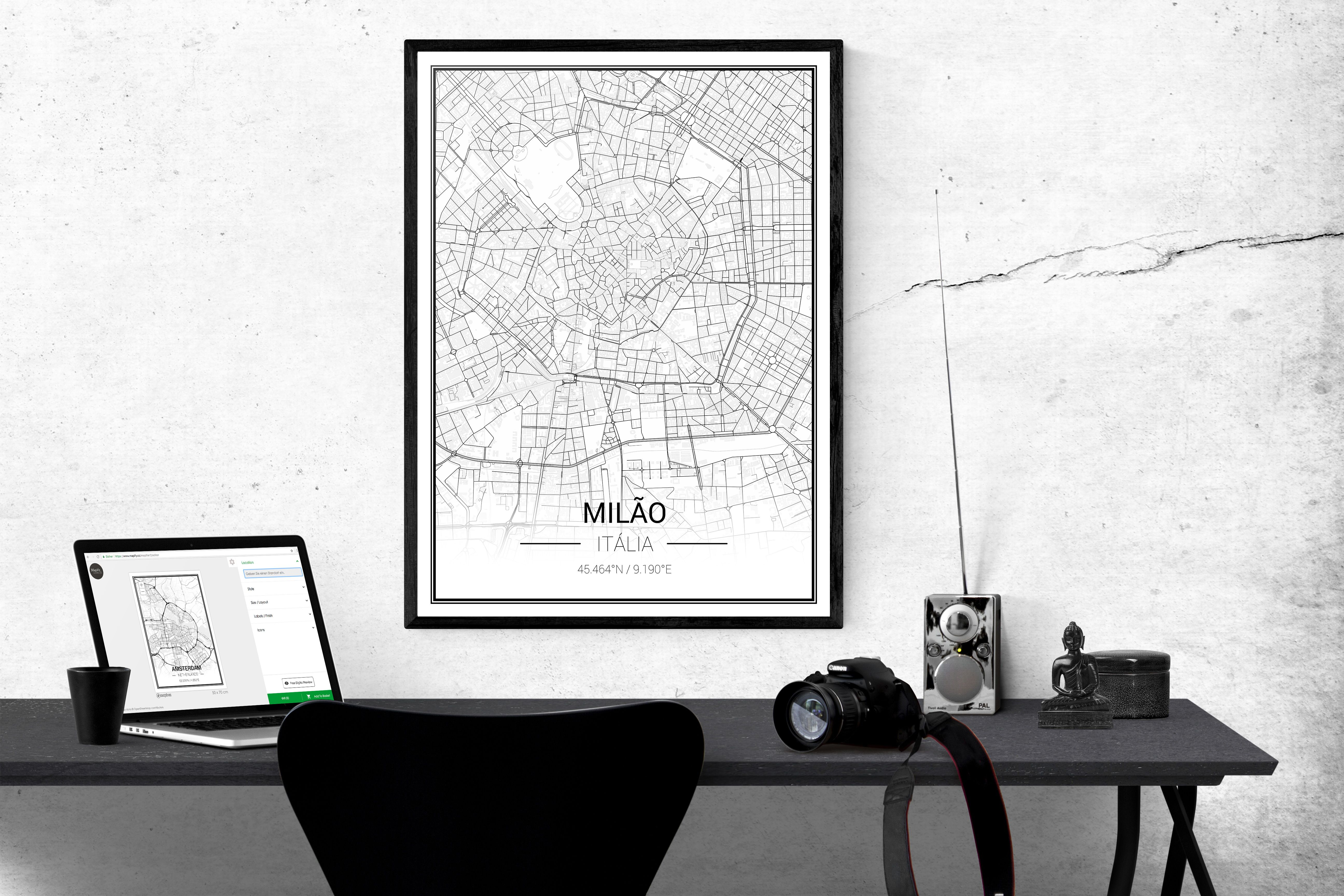 if you see this you ve found the perfect gift you can even design one yourself personalized map map poster create your own map