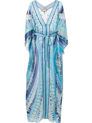 Emilio Pucci Geometric Print Sheer Dress - Spinnaker 101 - Farfetch.com