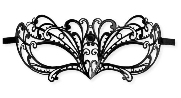 Metal Masquerade Mask u0027Katyu0027  Mask- crafts Pinterest - masquerade mask template