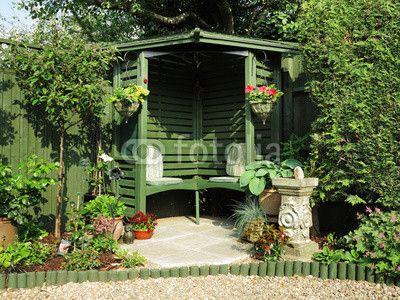 peaceful garden seating area Garden Pinterest Gardens