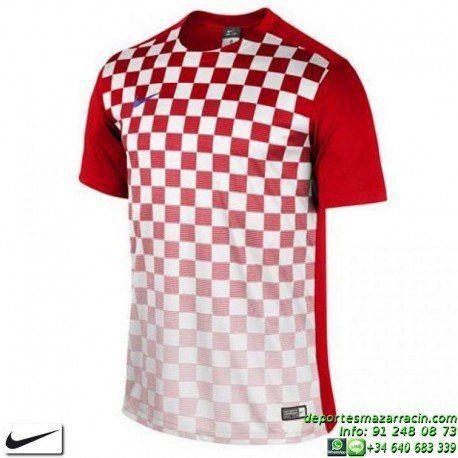 262dda82abbdc NIKE Camiseta PRECISION III JERSEY Futbol color ROJO BLANCO 644626-657…