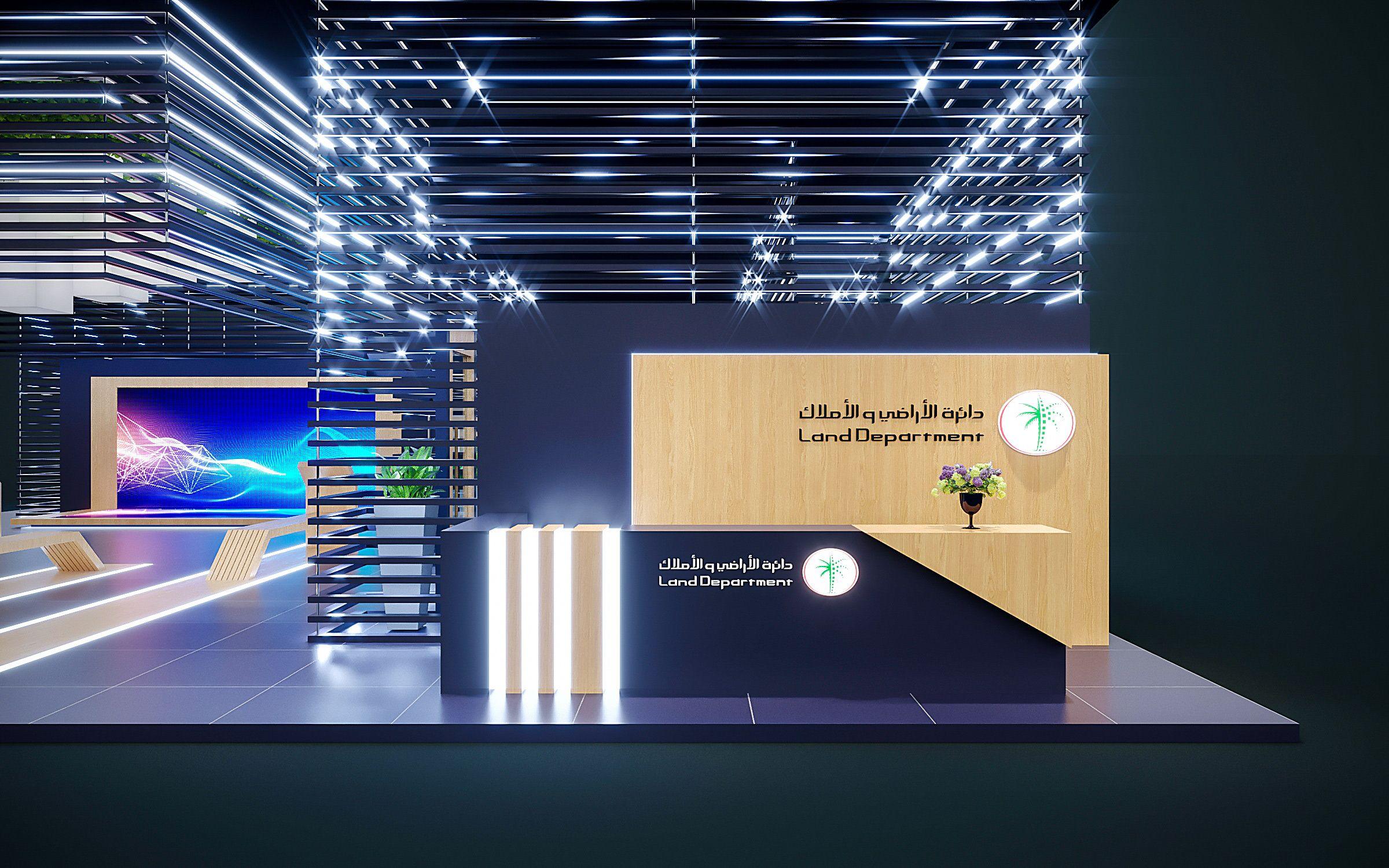查看這個 @Behance 專案:「Dubai Land - Gitex - 01」https://www ...