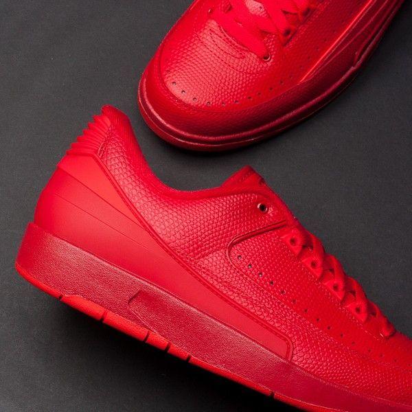 the best attitude c99bc 597f5 Air Jordan 2 Retro Low (Red) $160 | FOOTWEAR | Sneakers nike ...