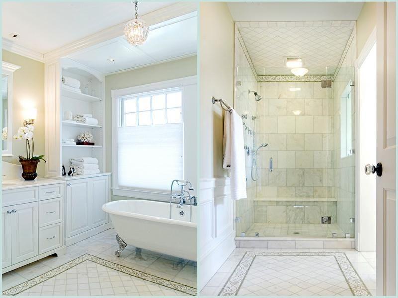Enchanting Master Bath Showers Ideas White Theme Master Bathroom Shower Ideas White Master Bathroom Master Bath Design Bathroom Renovation Shower