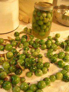 10 recipes to do with green tomatoes. Need to remember this at the end of the growing season.