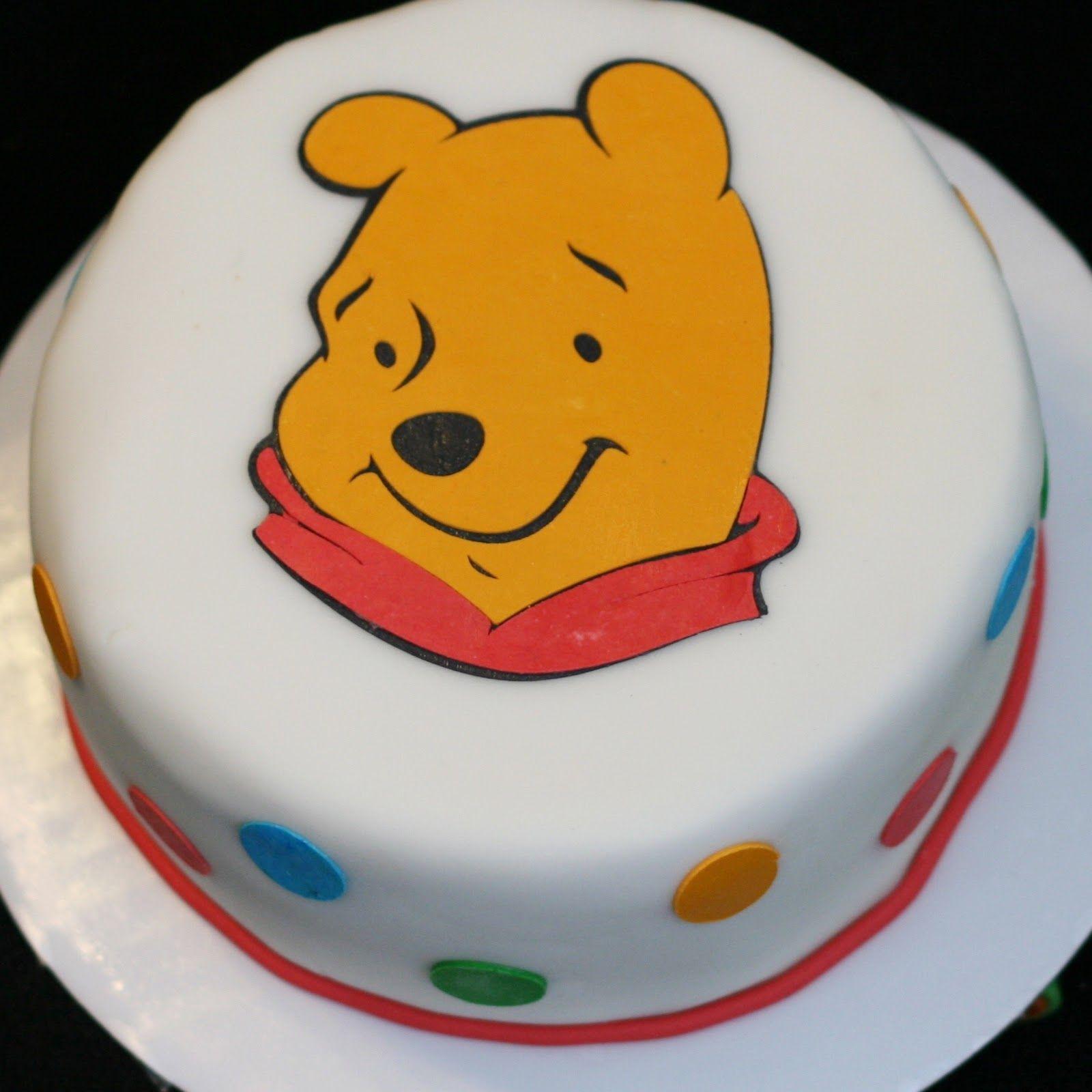 Winnie The Pooh Cakes Decoration Ideas Little Birthday Cakes Winnie The Pooh Cake Cake Birthday Cake Kids