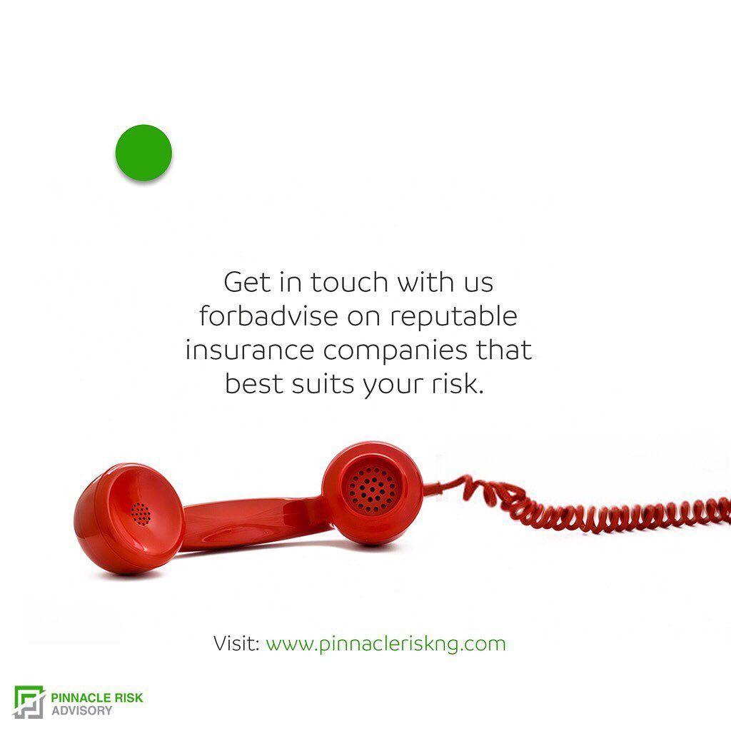 Get In Touch With Us For Advise On Reputable Insurance Companies That Best Suit Your Risk Visit Www Pinnacleris Risk Management Risk Advisory Insurance Broker